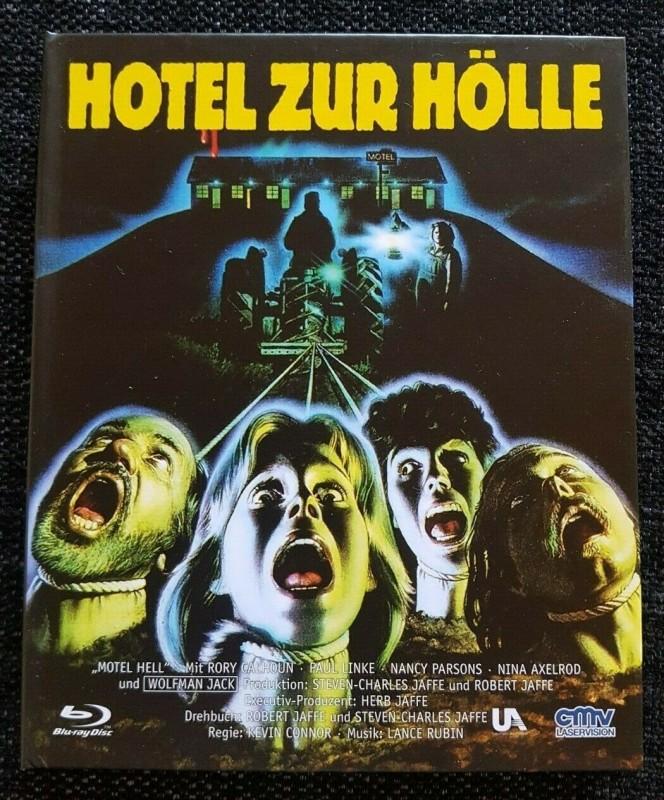 HOTEL ZUR HÖLLE [Blu-ray] - Digibook - UNCUT- CMV