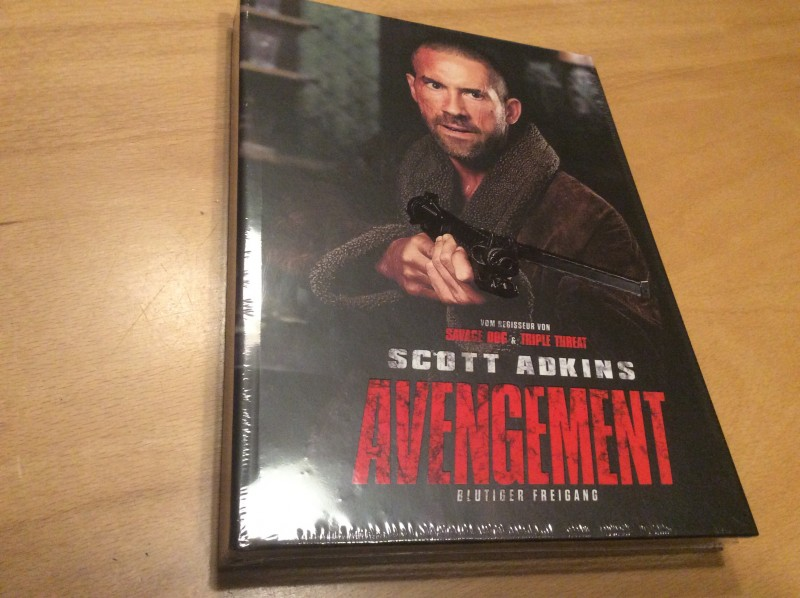 Avengement - Limited unrated MEDIABOOK  Kneipe COVER B