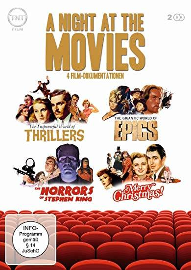 A NIGHT AT THE MOVIES - 2 DVDs - DOKUMENTATIONEN