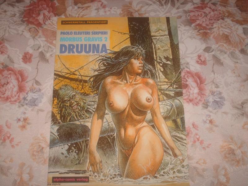 Morbus Gravis 2 Druuna von Paolo Eleuteri Serpieri