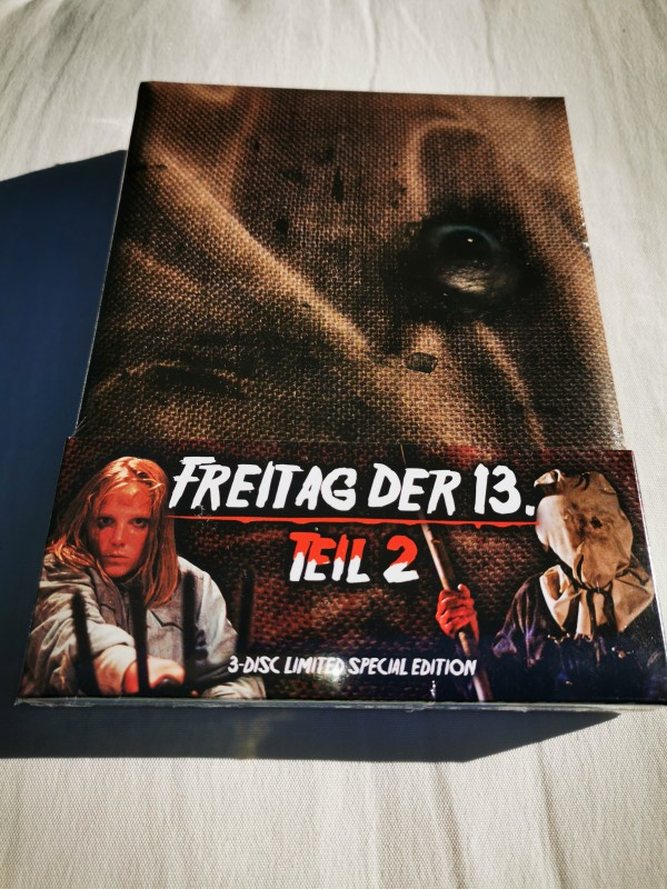 BLURAY MEDIABOOK-FREITAG DER 13  TEIL 2 - OVP -NEU - Selten