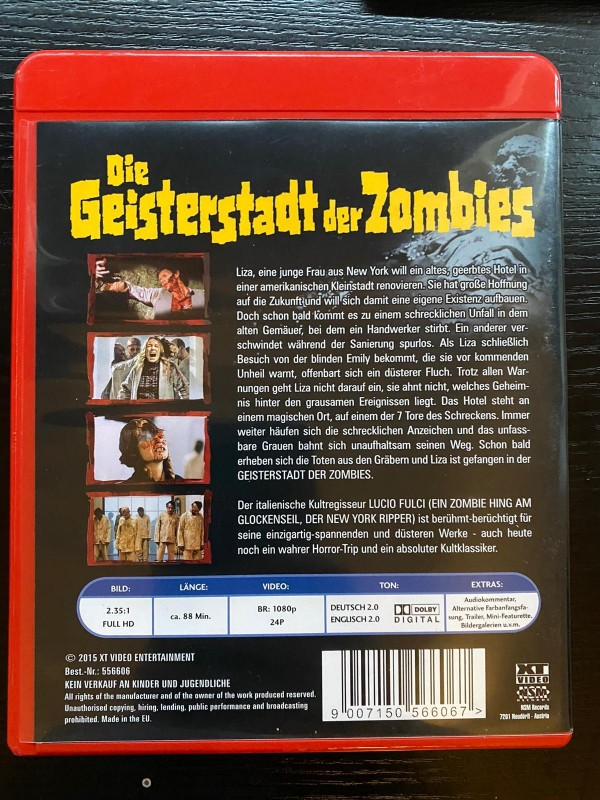 Die Geisterstadt der Zombies uncut blu ray