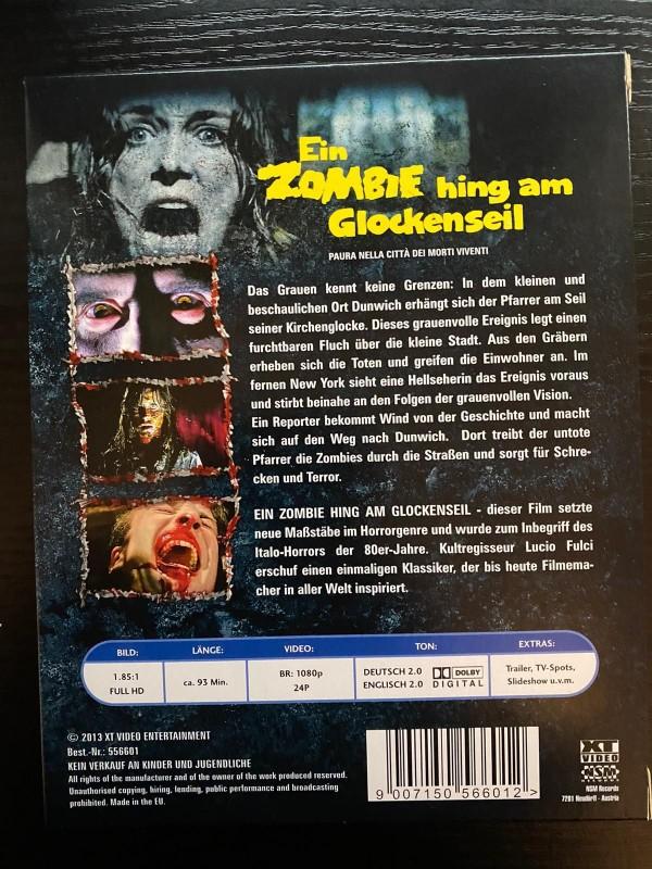 Ein Zombie hing am Glockenseil uncut Blu ray