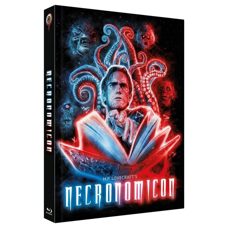 NECRONOMICON - MEDIABOOK - H.P. LOVECRAFT - 3 DISCs - UNCUT!