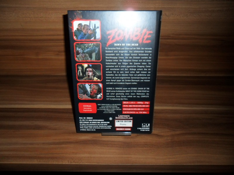 Dawn of the Dead Promo Hartbox Leerbox Weekend of Hell ovp