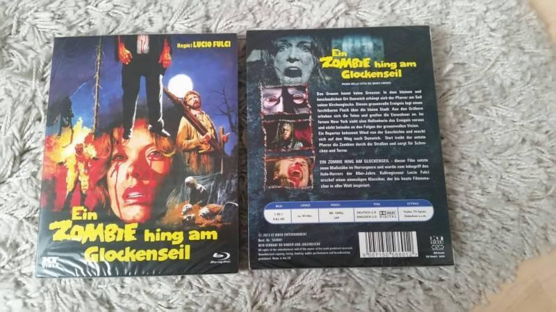 Ein Zombie hing am Glockenseil - Blu Ray - Uncut - OVP