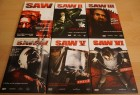 SAW Teil 1-6 Mediabooks inkl. Urated Edition - Saw I-VI Set