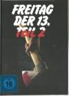 FREITAG, DER 13. TEIL 2 - Mediabook - OVP