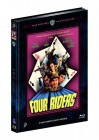 FOUR RIDERS - Mediabook Cover B (Blu-ray/DVD) Limited 444
