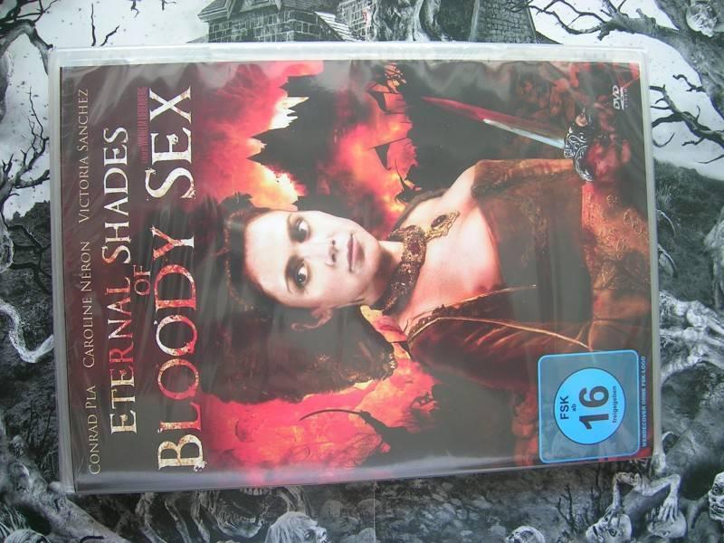 ETERNAL SHADES OF BLOODY SEX DVD EDITION NEU OVP