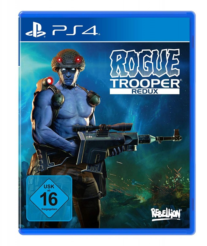 Rogue Trooper - Redux ( PS4 ) ( OVP )