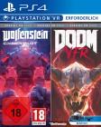 Wolfenstein Cyberpilot + DOOM VFR ( PS4 ) ( OVP )