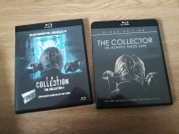 2x Blu Ray The Collector 1 + 2 jeweils Uncut Black Edition