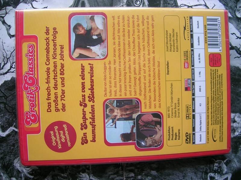 DER OSTFRIESEN-REPORT EROTIK CLASSICS DVD NEU OVP
