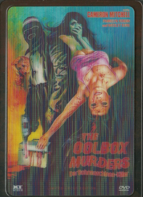 THE TOOLBOX MURDERS - Ultrasteelbook von XT