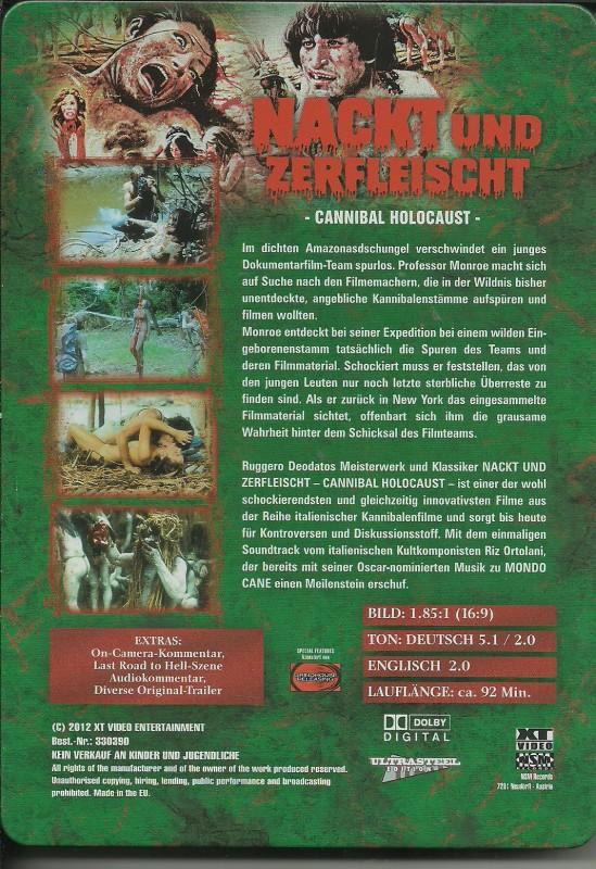 NACKT UND ZERFLEISCHT - Ultrasteelbook von XT
