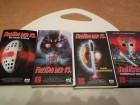 FREITAG DER 13. TEIL 5 , 6 , 7 , 8  CIC VHS  JASON