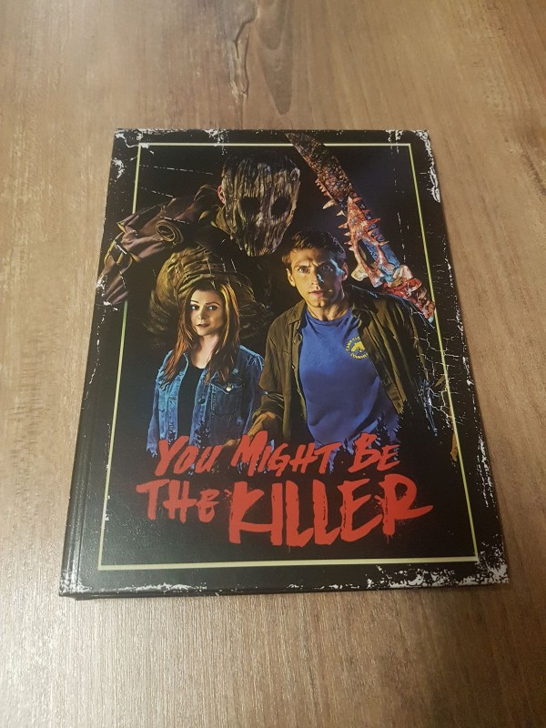You Might be the Killer-Mediabook Cover C Blu Ray Disc & DVD