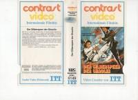 DER SILBERSPEER DER SHAOLIN - ITT GLASBOX VHS - NUR COVER !