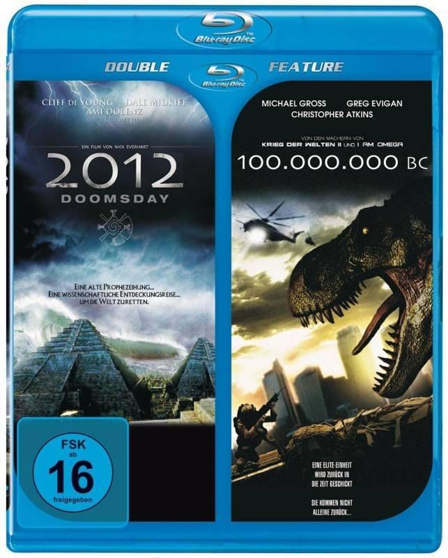 Doppel BD: 2012 Doomsday+100 Million BC [Blu-ray] OVP
