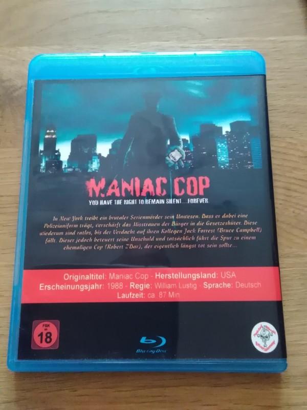 MANIAC COP / BÖRSEN BLU-RAY / WILLIAM LUSTIG
