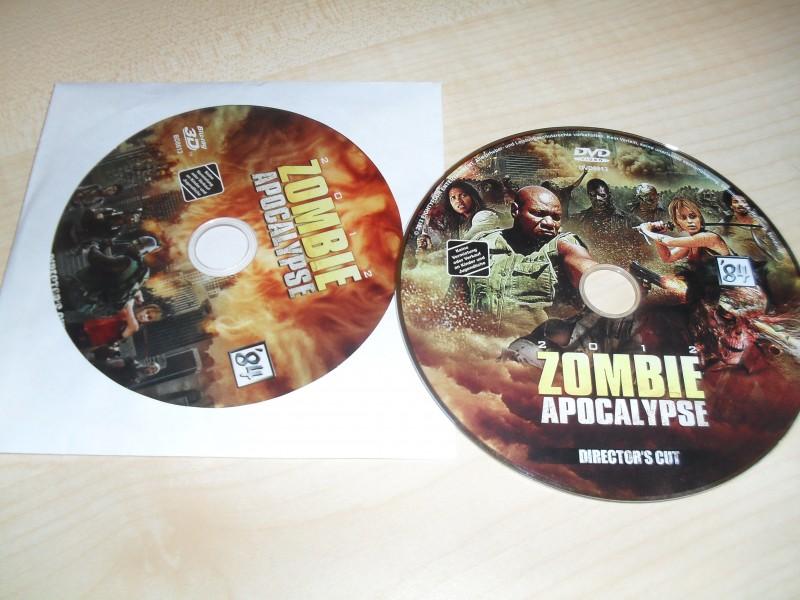 Zombie Apocalypse - DVD + Blu Ray aus limitiertem Mediabook