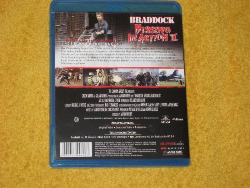 Braddock - Missing in Action III 3 - Blu-Ray - Wie NEU -
