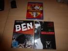 Blu-Ray-Raritäten (Willard MB, Ben MB, Die Eisenfaust)
