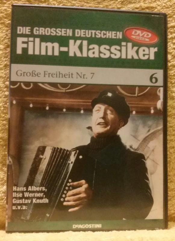Große Freiheit Nr. 7 Klassiker DVD Hans Albers
