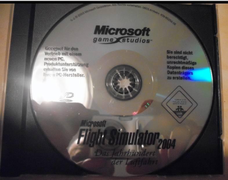 microsoft flight simulator 2004- PC DVD