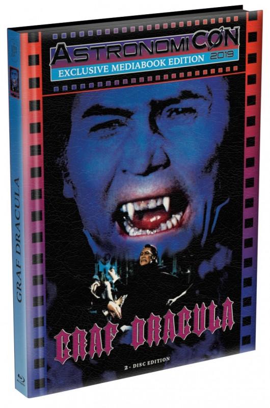 Dracula 1974 - wattiertes Mediabook (Blu Ray+DVD) NEU