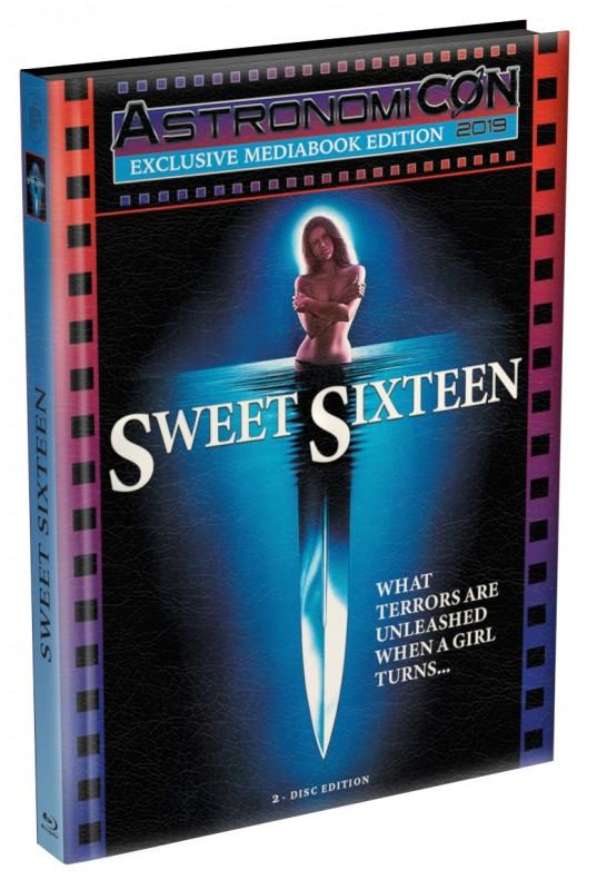 Sweet Sixteen - wattiertes Mediabook (Blu Ray+DVD) NEU