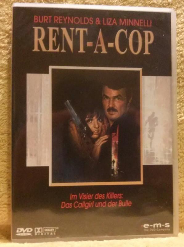 Rent-A-Cop DVD Uncut Burt Reynolds/Liza Minnelli