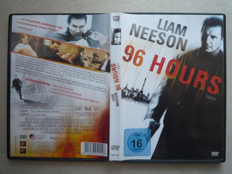 DVD - 96 Hours - Taken - Liam Neeson, Maggie Grace
