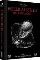 *Hellraiser III - Mediabook Blu-ray + DVD Black Edition *