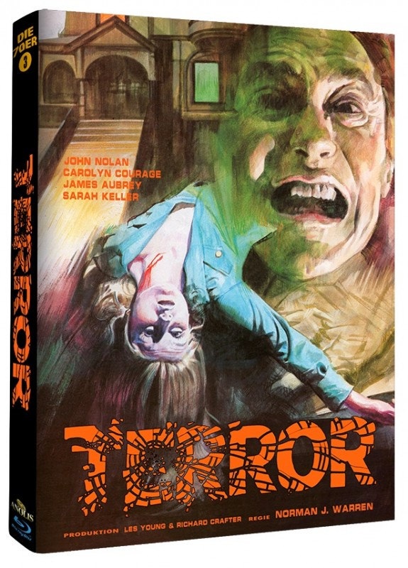 Terror - Mediabook B (Blu Ray) Anolis - NEU/OVP