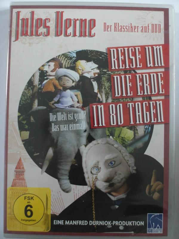 Reise um die Erde in 80 Tagen - Jules Verne Trickfilm Kult