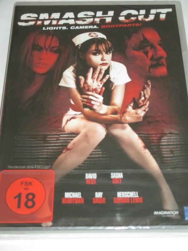 NEW KSM - Smash Cut - DVD/NEU/OVP/Horror/David Hess/Sasha Grey