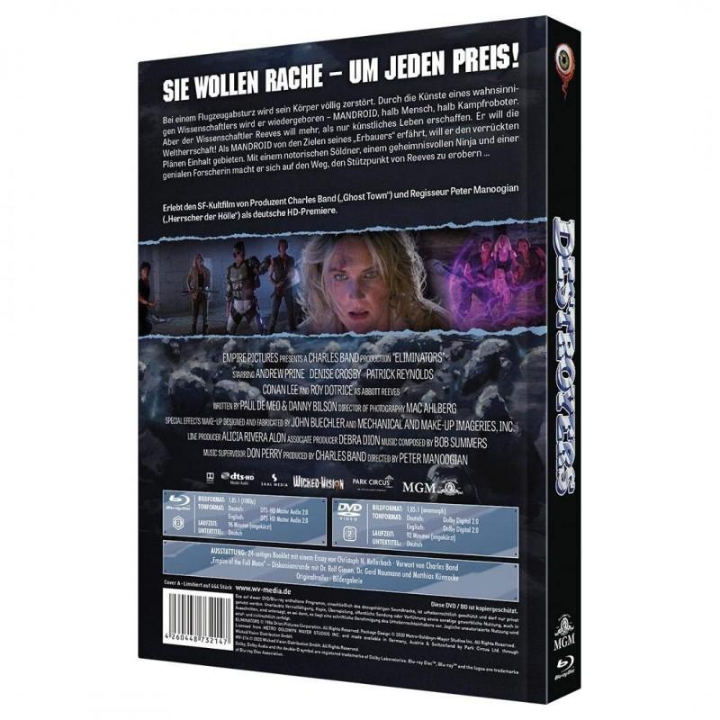 Destroyers - Mediabook A lim. 444 (Blu Ray+DVD) NEU