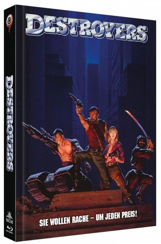 Destroyers - Mediabook B lim. 222 (Blu Ray+DVD) NEU