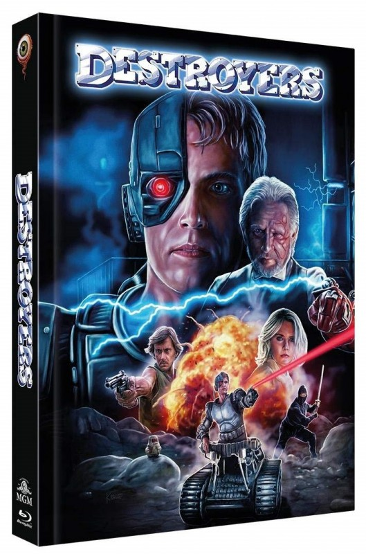 Destroyers - Mediabook C lim. 222 (Blu Ray+DVD) NEU