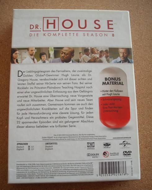 Dr. House Season 8 [6 DVDs]