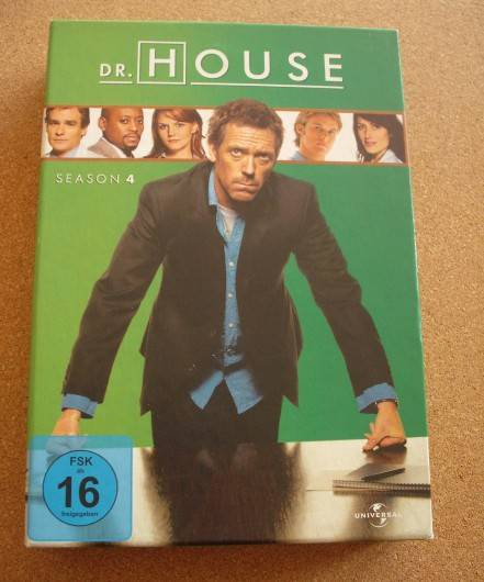 Dr. House Season 4 [5 DVDs]