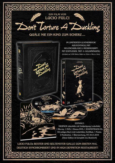 *Don't Torture a Duckling 4Disc Leatherbook *