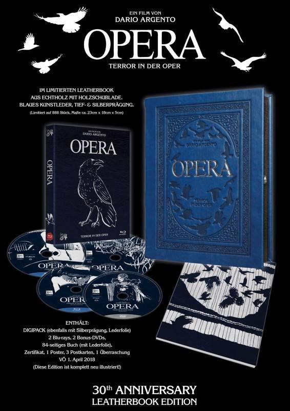 *Dario Argento's OPERA - Leatherbook *