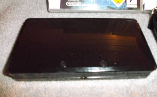 Nintendo 3DS Konsole Cosmos Schwarz-OVP! &5xSpiele