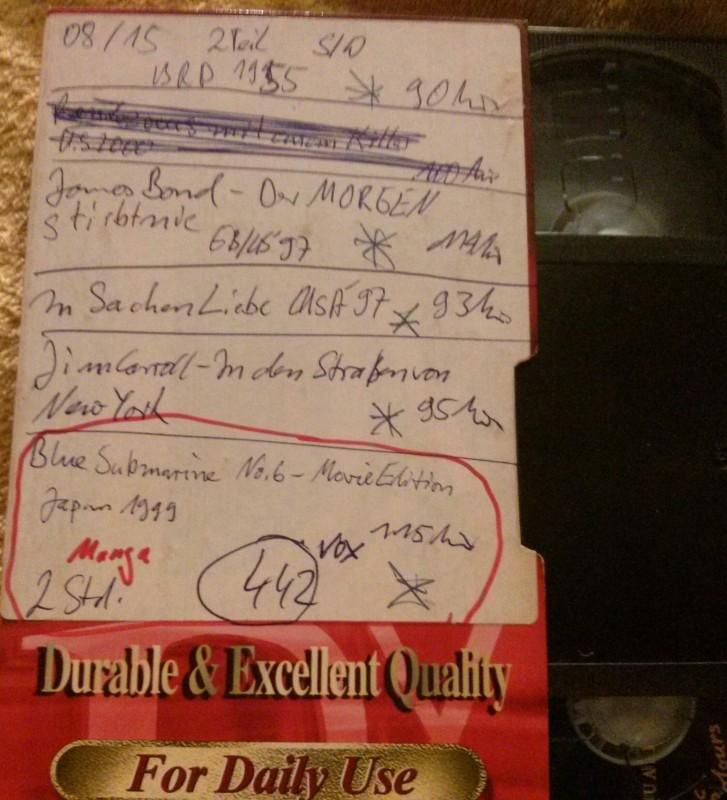 Leerkassette VHS ideal for long play Nr. 442