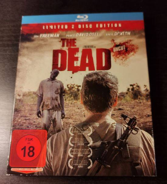 THE DEAD - SPECIAL EDITION - BLU-RAY - UNCUT - PAPPSCHUBER