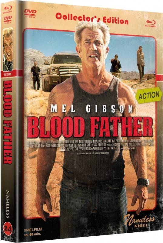Blood Father - DVD/BD Mediabook C Retro Lim 99 v 333 OVP