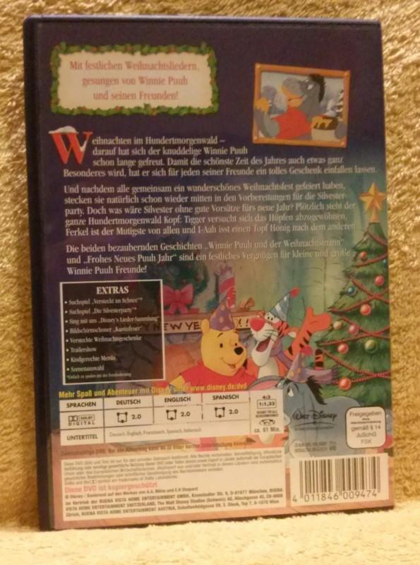 Walt Disney Winnie Puuh Honigsüße Weihnachtszeit DVD (Mr)